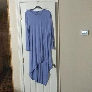 2/$10 Kaari Blue high low dress.